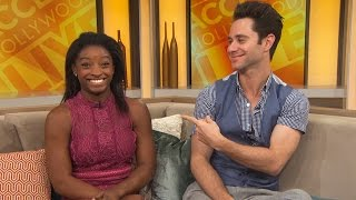 'Dancing With The Stars': Simone Biles Teases Details About Her Mystery Crush!