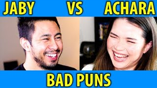 Jordindian Vs Filter Copy Inspired: JABY VS ACHARA on BAD PUNS