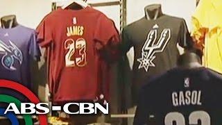 Bandila: NBA merchandise, mabibili na sa NBA Store
