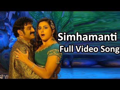 Xxx Mp4 Simhamanti Full Video Song Simha Movie Bala Krishna Nayantara 3gp Sex