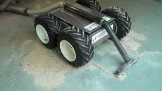 Vacuum Bot - a Remotely Operated Industrial Vacuum