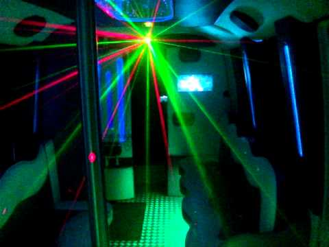 BJazzled Party Bus All Stretched Out Limos