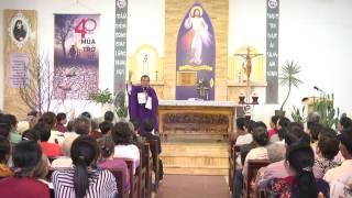 Bài giảng Lòng Thương Xót Chúa ngày 6/3/2017 - Cha Giuse Trần Đình Long