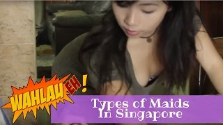 Types of Maids in Singapore | WahLau Eh! #23 | Happy TV