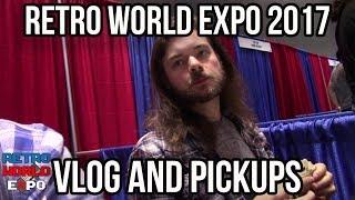 Retro World Expo 2017 Vlog and Pick Ups! | RGT 85
