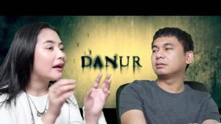 REACTION TRAILER FILM DANUR (FEAT. PRILLY LATUCONSINA)