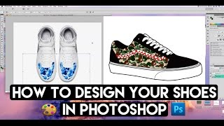 How To Fully Design Any Shoe From Any Angle With Photoshop And Angelus Shoe Mock Up