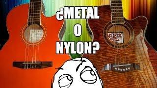 ¿Cuerdas de NYLON o de METAL? Todo lo que debes saber