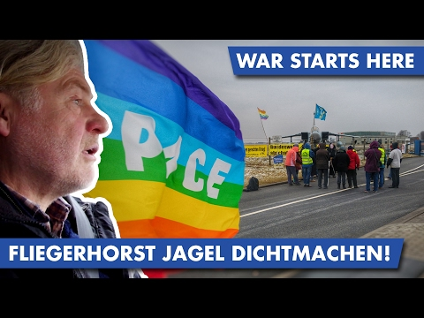 War starts here: Fliegerhorst Jagel/Schleswig dichtmachen!