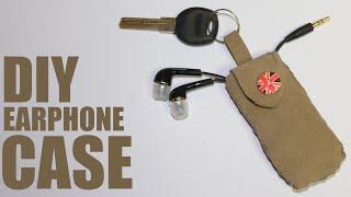 How to make an earphone case - DIY Earphone Pouch
