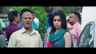 Ajith Kannada Movie | Kannada Comedy Scene | Ajith goes to airport in His Friend Car | Nikki Galrani
