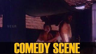 Yakshi Chases Adoor Bhasi, Comedy scene ||  Chottanikkara Amma