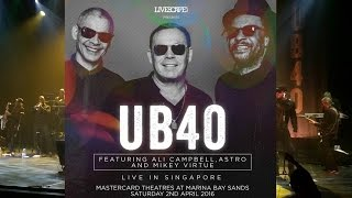UB40 - Live in Singapore (2 April 2016)