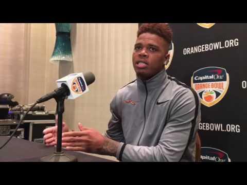 Deondre Francois' Orange Bowl press conference