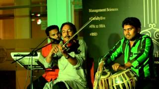 Ustad Raees Khan violinist-Tajdar e haram-Comsats Islamabad