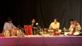 Ghazal virtuoso Shevanti Sanyal live in India