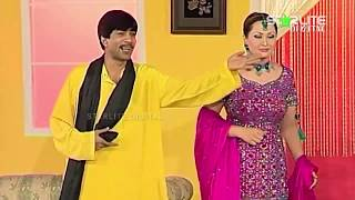 Sajan Abbas and Nargis New Pakistani Stage Drama Full Comedy Clip