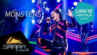 UMK18 // Saara Aalto: Monsters live // Euroviisuedustaja // Finnish Eurovision entry