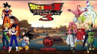 DRAGON BALL Z BUDOKAI TENKAICHI 3 LATINO VERSION FINAL GAMEPLAY PART 18