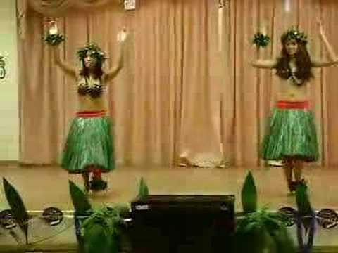 Lilo and Stitch hula dance.