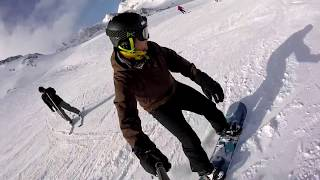 Snowboard Ski Stubaital 2016 - GoPro Hero+