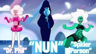 MY FRIEND Guesses Steven Universe Characters