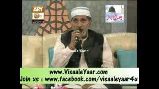 M Ali Sajjan In Qtv Program Naat Zindagi Hai With Sarwar Naqshbandi.By Visaal