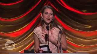 2014 XBIZ Awards - Riley Reid Wins 'Female Performer of the Year' Award