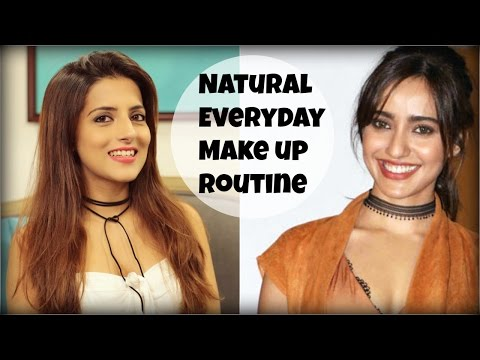 EASY Everyday Natural Makeup Routine For College, Work | Indian Skin Tutorial