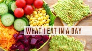 Une journée dans mon assiette | Vegan & Heatlhy