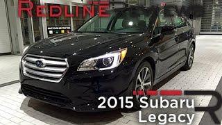 2015 Subaru Legacy – Redline: Review