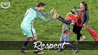 Cristiano Ronaldo - A Great Person #RESPECT | Emotional Video