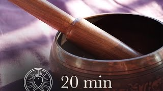 20 min Awareness Meditation Music Relax Mind Body: Chakra Cleansing and Balancing