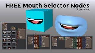 LW3D Free LipSync Nodes