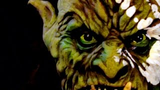 War Orc Soldier Latex Halloween Mask and Creature of the Shadows