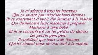 Dynastie le Tigre - Ma Femme [Paroles - Lyrics]