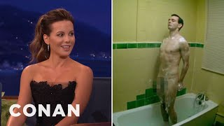 Kate Beckinsale Texts Her Daughter Naked Pics Of Michael Sheen  - CONAN on TBS