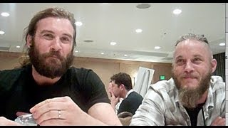 Vikings - Travis Fimmel and Clive Standen Interview