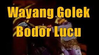 Wayang Golek Bobodoran Cepot : Maneh mah Kanu Elmu Inget wae, kanu hutang rajeun Poho