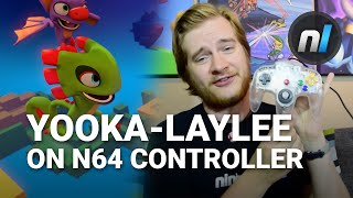 You Can Play Yooka-Laylee on an N64 Controller | Yooka-Laylee Toybox Demo