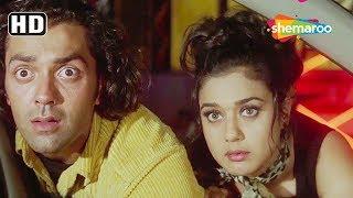 Bobby Deol & Priety Zinta Romantic First Date Scene | Soilder | Blockbuster Action Movie