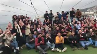 سفرة كلية طب بغداد الى اسطنبول واغنية بيباي بيباي عفتج يطبية 2018
