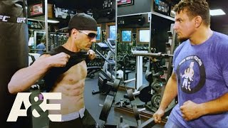Criss Angel: Trick'd Up - Punched in the Gut w/ Frank Mir, Randy Couture, & Chuck Liddell | A&E