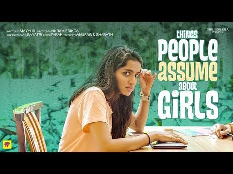 Things People Assume About Girls Ft. Tinder Girl Formula ChaiBisket