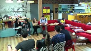 الطلاب في لعبة الكراسي في احتفال السنة الجديدة - ستار اكاديمي 11 - 31/12/2015