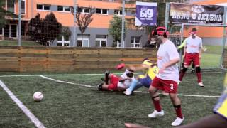 Bučovice Blind Football Cup 2013 - Documentary - czech version for visually impaired