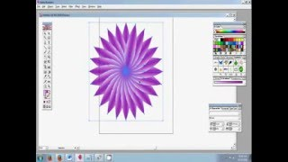 How to use Pen Tool and create Flower Bangla Tutorial