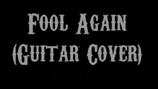 Fool Again - Westlife (Guitar Cover With Lyrics & Chords)