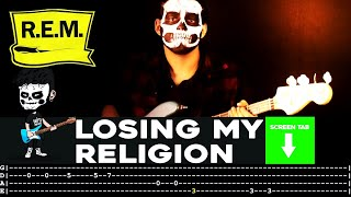 R.E.M. - Losing My Religion (Bass Cover By Cesar Dotti W/Tab)