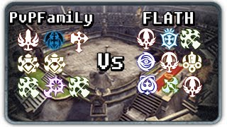DN INA (93 lvl cap) PVP Wipeout (Kill or Fall) GVG: PvPFamiLy Vs FLATH #2